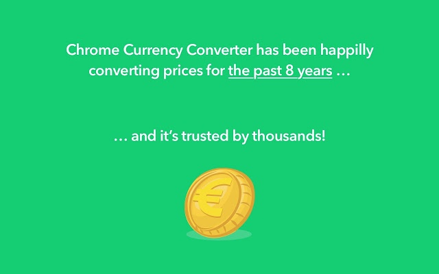 Chrome Currency Converter PRO