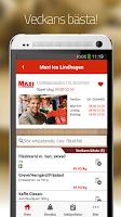 Screenshot of Matpriskollen