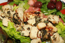 Warm Stir Fried Chicken Salad