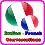 learn italian - dialogues italian french