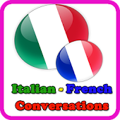 learn italian - dialogues italian french
