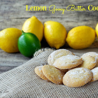 Lemon Gooey Butter Cookie