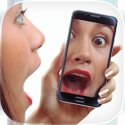 Mirror + Selfie Flash Camera