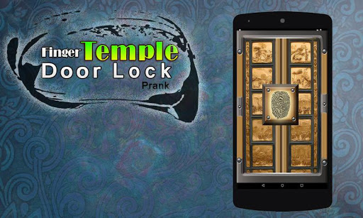 Finger Temple Door Lock Prank