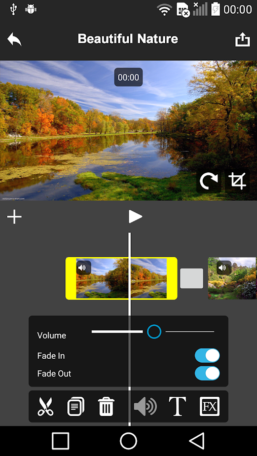 AndroMedia Video Editor- screenshot