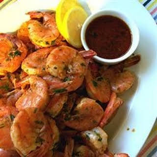 Amazing Spicy Grilled Shrimp.