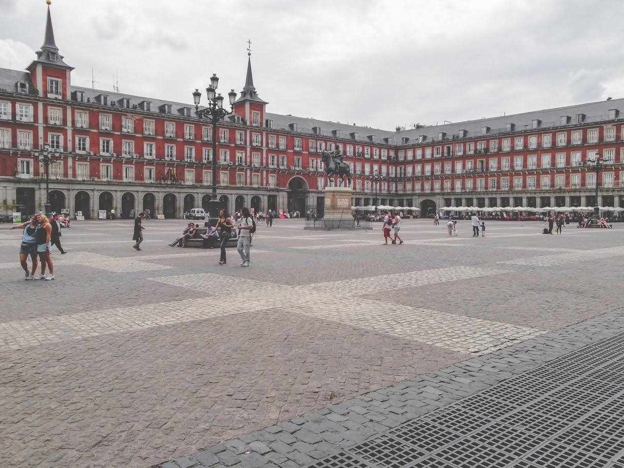 Snapshot of the Plaza Mayor