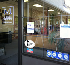 Photo: Morse Insurance Agency, Inc. in Easton, MA proudly displaying their BBB Accreditation