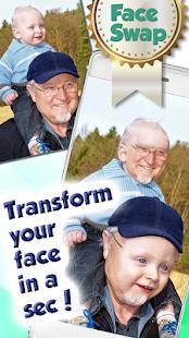 Výměna Obličejů Foto Filtry - náhled