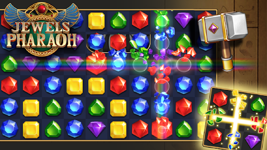 Jewels Pharaoh : Match 3 Puzzle 10