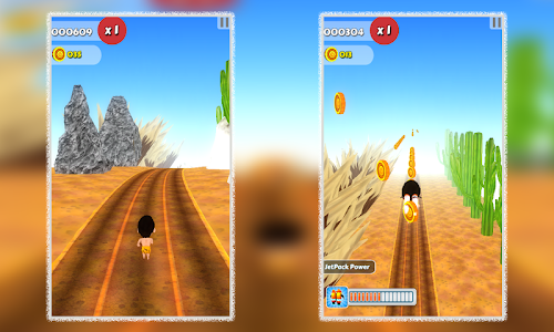 Cave Man Runner 3D screenshot 5