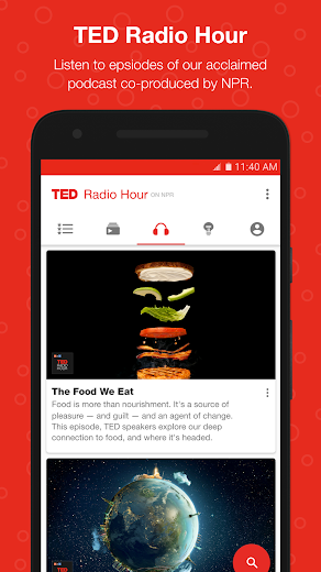 Screenshot 6 for TED's Android app'