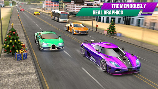 Crazy Car Traffic Racing Games 2020: New Car Games apkslow screenshots 4