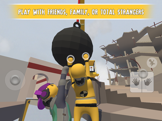 Human: Fall Flat Screenshot Image