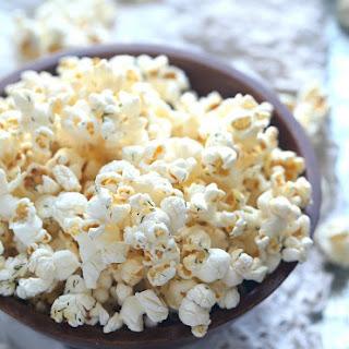 Salt and Vinegar Popcorn.
