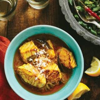 Kerala Fish Curry {meen moili}.