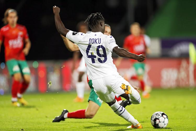 """De vrees dat Anderlechts goudhaantje Doku nog vertrekt: """"Als Belgische club kan je niet zeggen dat hij onverkoopbaar is"""""""