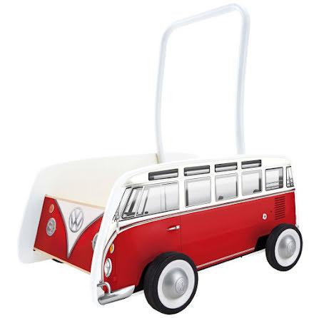 Hape Volkswagen Buss Gåvagn, Röd