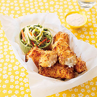 Baked Fish Fingers.