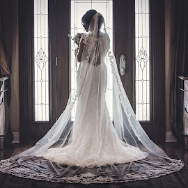 Dressed to Impress by Elena Bruewer - Wedding Bride ( dress, bridal, arkansas, wedding, forever photography )