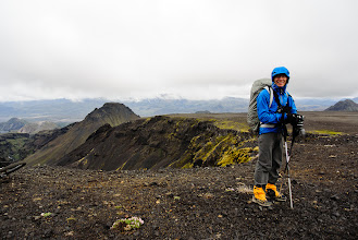Photo: Short gaiters, a pack cover and good rain gear were pretty nice to have on this hike