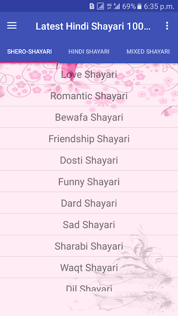 #2. Latest Hindi Shayari 100000+ (Android)