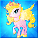 Little Pony Color Dress Up icon