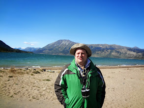 Photo: This is Lake Bennett at Carcross