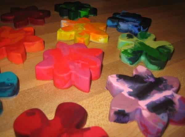 Fun Rainbow Crayons