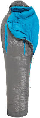 NEMO Kayu, 30, 800-fill DownTek Sleeping Bag, Carbon/Blue Flame, Regular alternate image 3