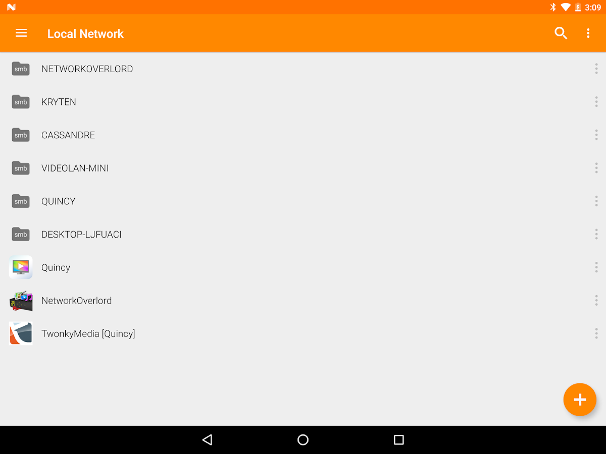 VLC for Android- screenshot