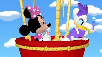 Minnie and Daisy's Flower Shower