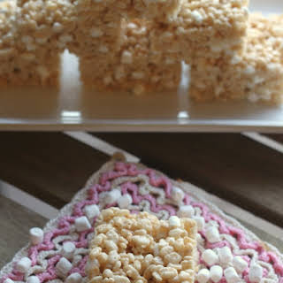 Browned Butter Rice Krispie Treats.