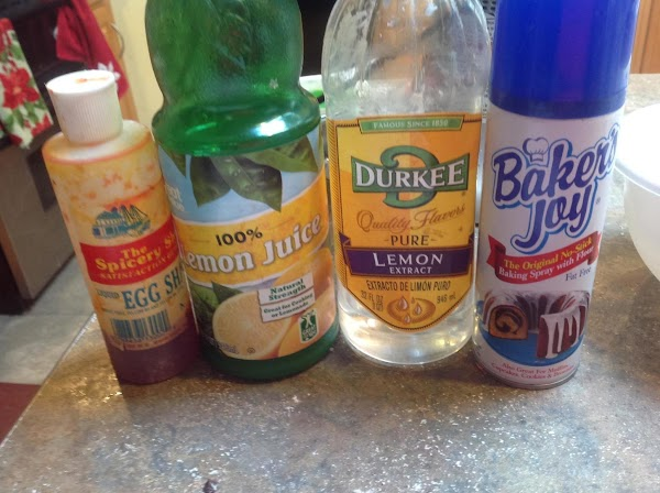 Add in the lemon extract, pulverized lemon  and yellow food color if using,...