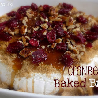 Cranberry Baked Brie.