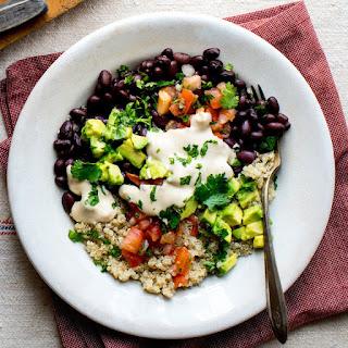 Black Bean-Quinoa Buddha Bowl Recipe