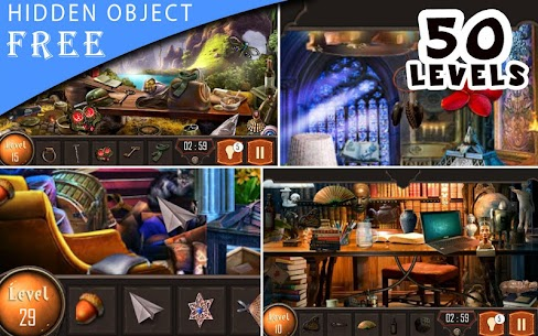Hidden Object Game Free 50 Levels : Deep Search 1.0 Android Mod APK 1