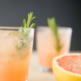 Rosemary Greyhound Cocktail.