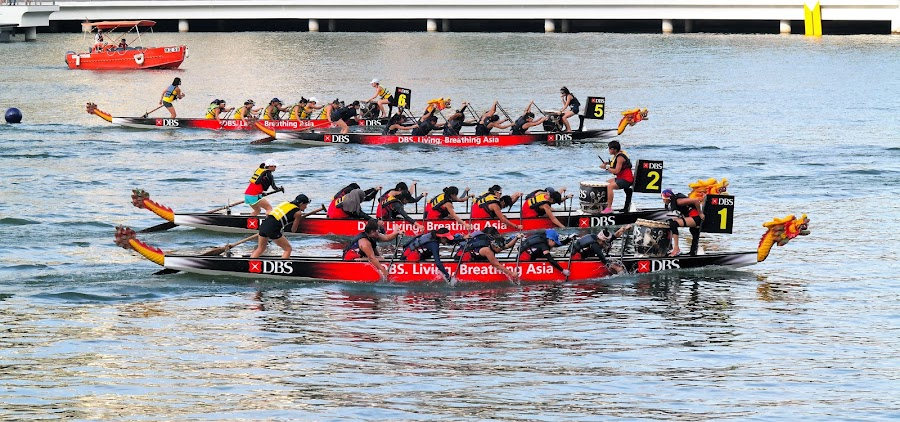 Dragon Boat Race #2 by Koh Chip Whye - Sports & Fitness Other Sports (  )