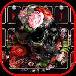 Flower Skull keyboard Icon