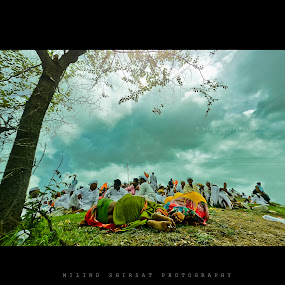 Relax by Milind Shirsat - People Street & Candids ( sky, blue, greenery, relaxation, people )