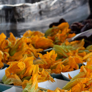 Roasted Zucchini Blossoms Salad