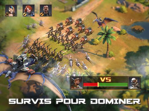 Télécharger Dino War mod apk screenshots 3