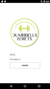 Dumbbells & Diets - náhled