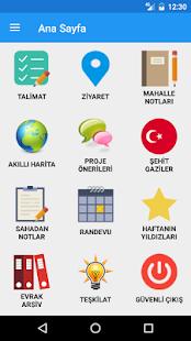 AK Parti Antalya İl Bşk. Akıllı Yönetim Sistemi - náhled