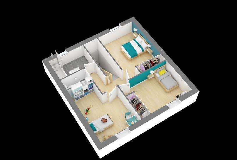 Vente Terrain + Maison - Terrain : 724m² - Maison : 88m² à Paucourt (45200)