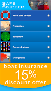 Safe Skipper Boating App- screenshot thumbnail