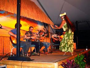 Photo: Da Ukelele Boyz and others, at a slack-key gig.