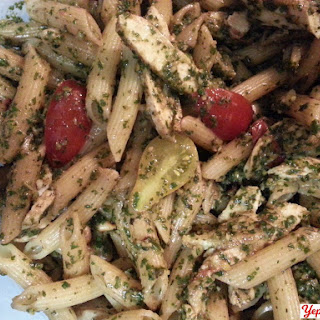 Pesto Penne with Chicken new