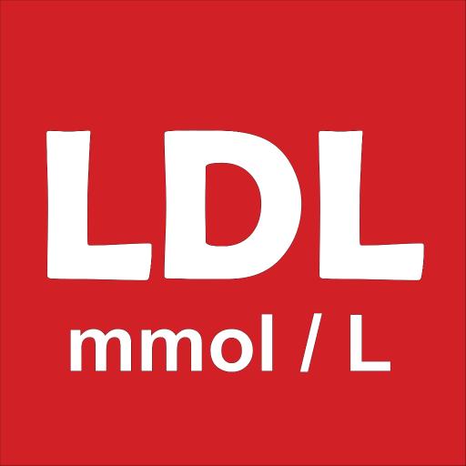 LDL-C - 低密度脂蛋白胆固醇毫摩尔/升 醫療 App LOGO-APP開箱王